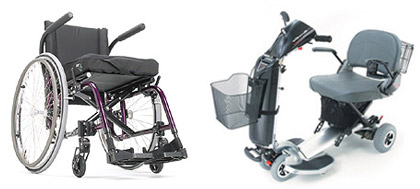 Common Types of Manual and Electric Wheelchairs